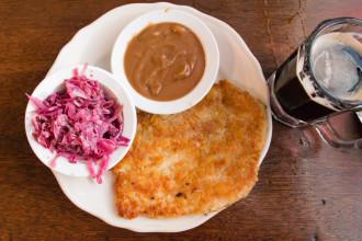 German comfort food at Schilo's Deli.