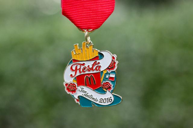 2016 Fiesta Medal McDonalds