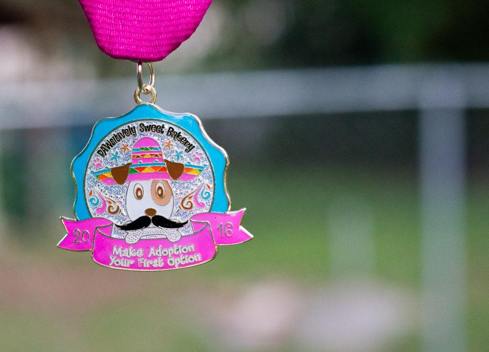 2016 PAWsitively Sweet Bakery Fiesta Medal