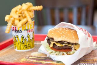 Frontier Burger Crinkle Fries