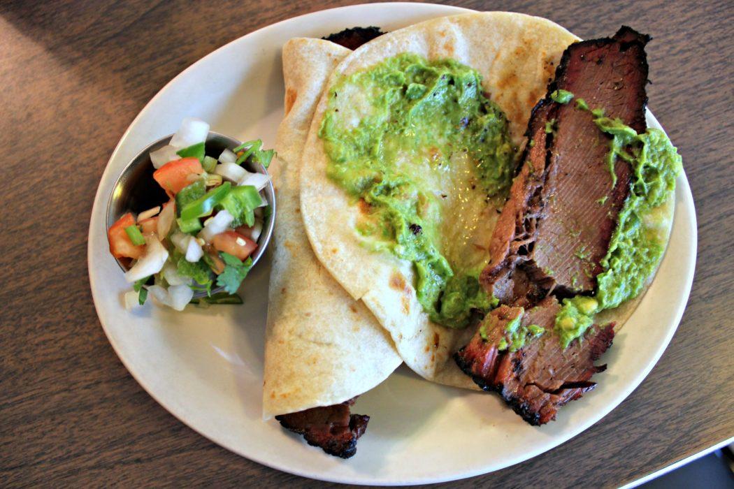 Brisket Tacos Garcia's Mexican Restaurant