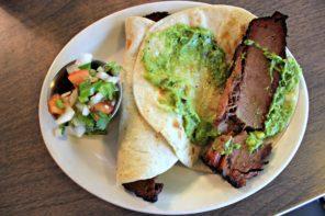 Garcia's Mexican Food: BBQ + Tex-Mex = Brisket Tacos