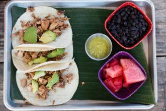 Vegan Barbacoa Tacos La Botanica