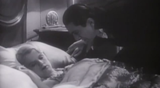 Scene from Dracula (1931) via Public Domain