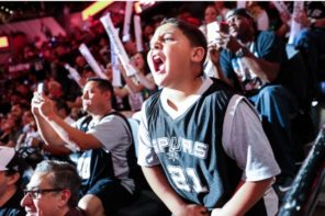 A New Game Day Celebrity: The Spurs' Dancing Kid