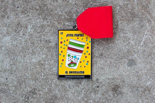 El Borracho Loteria SA Flavor Fiesta Medals 2017-3