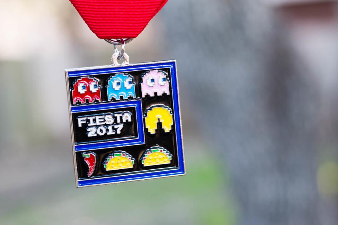 Taco Pacman 2017 Fiesta Medal by Tony Infante
