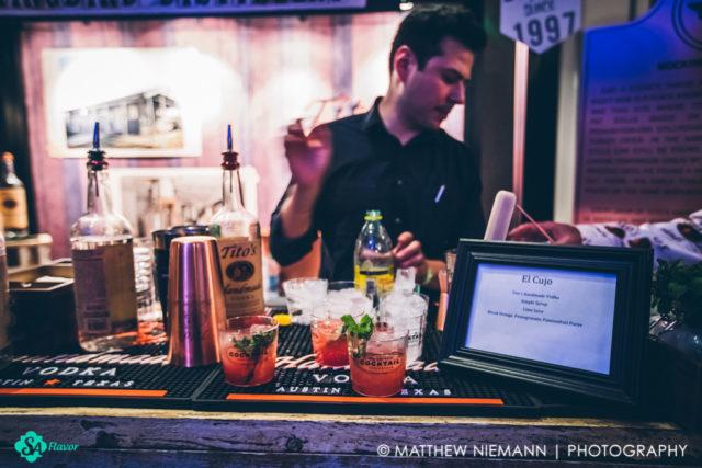Titos Vodka Waldorf on the Prairie San Antonio Cocktail Conference