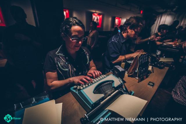 Typewriter Rodeo Martine Honeysuckle Last Word San Antonio Cocktail Conference