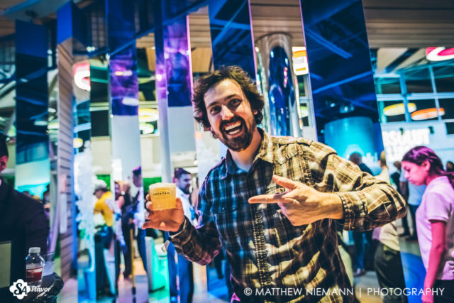 Garrett Having a Blast San Antonio Cocktail Conference Opening Party 2017