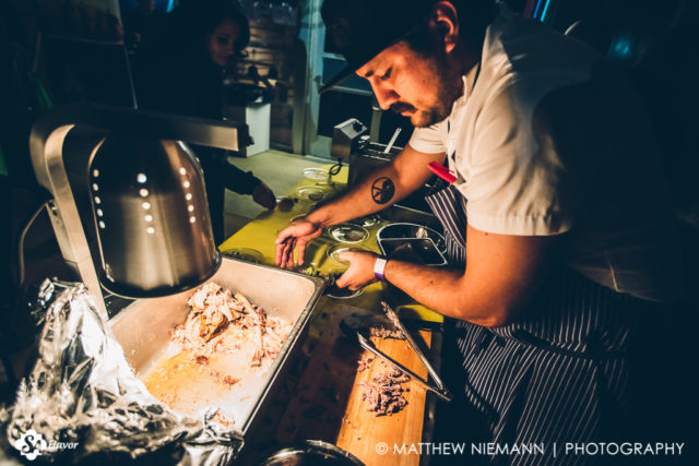 Chef Alejandro Paredes San Antonio Cocktail Conference Opening Party 2017