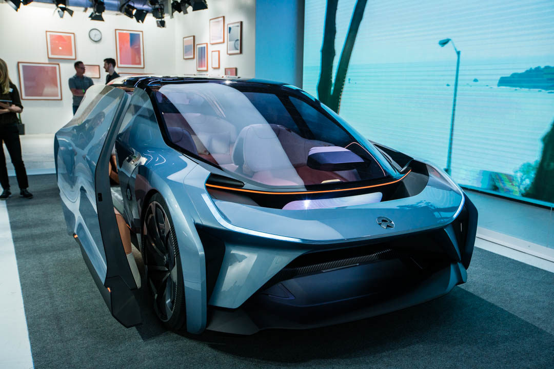 The NIO Eve at SXSW: Reimagined Interior for the Self-Driving Car