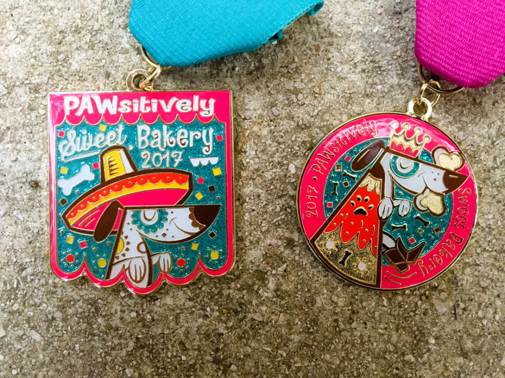 PAWSitively Sweet Bakery Fiesta Medal 2017