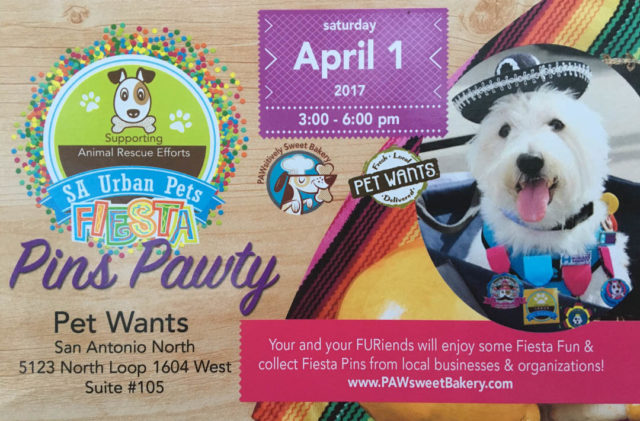 PAWsitively Sweet Bakery Party April 1