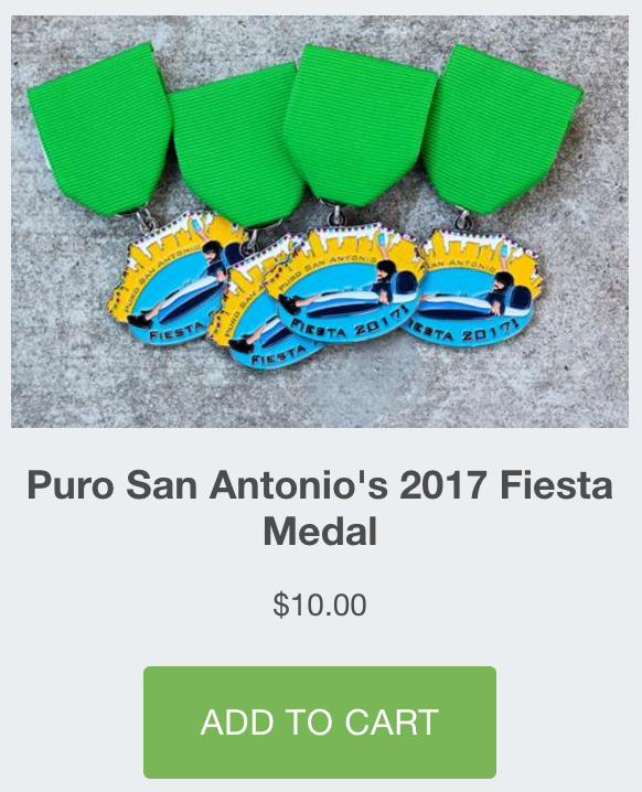 Puro San Antonio Add to Cart