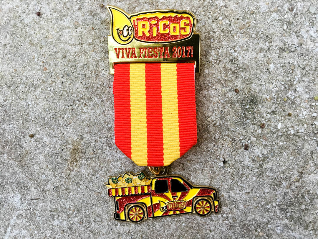 Ricos Fiesta Medal 2017