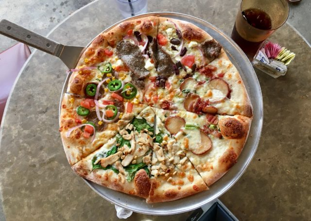 Sampler Fralo's Pizza