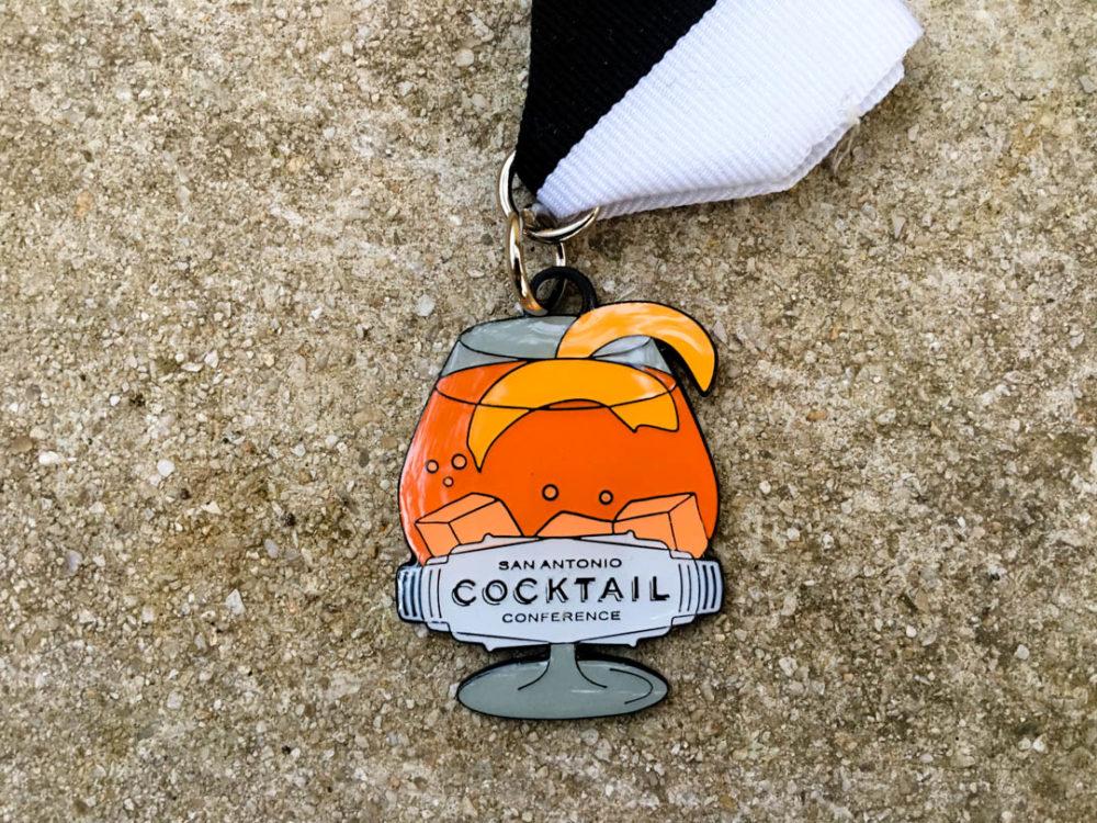 San Antonio Cocktail Conference Fiesta Medal 2017