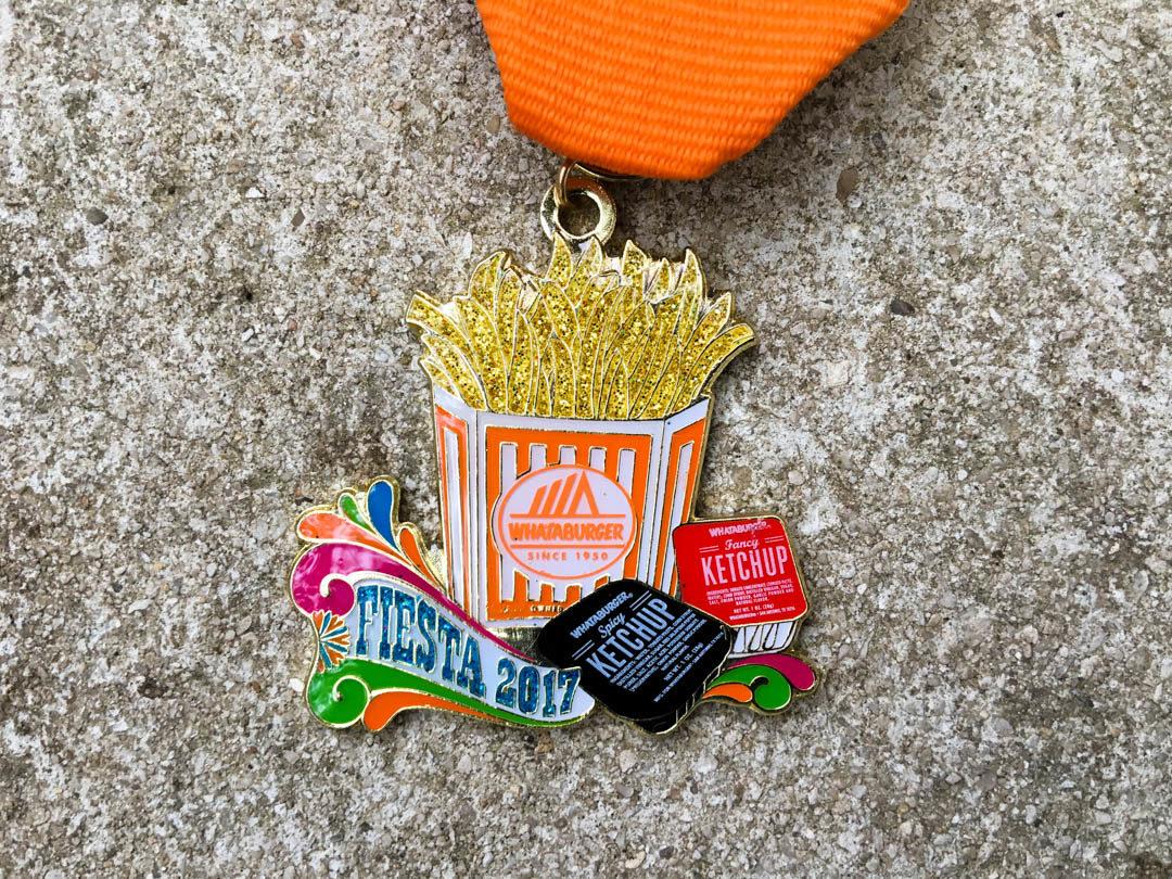 Whataburger Fiesta Medal 2017