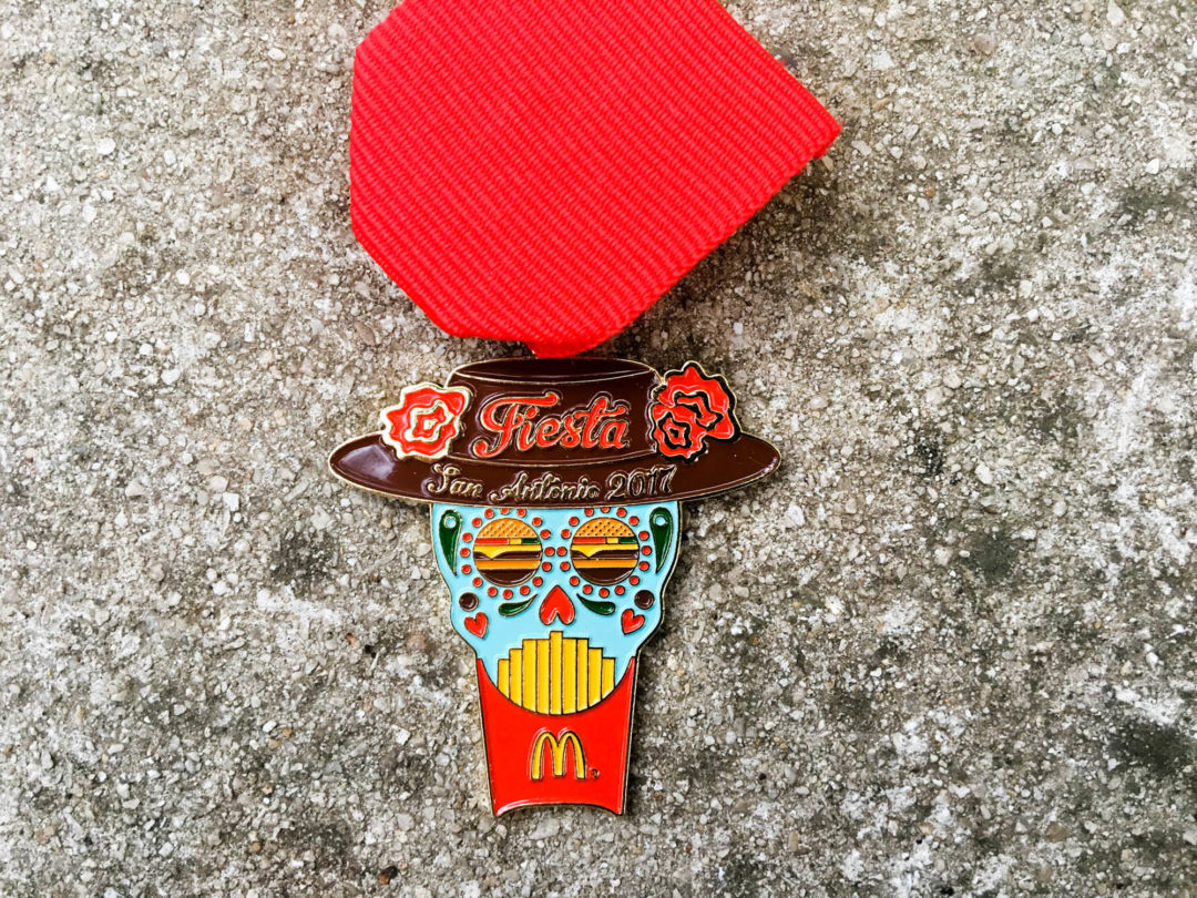 McDonalds Fiesta Medal 2017