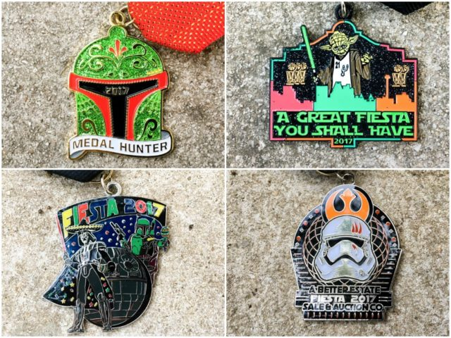 Star Wars Fiesta Medals 2017 Finalists