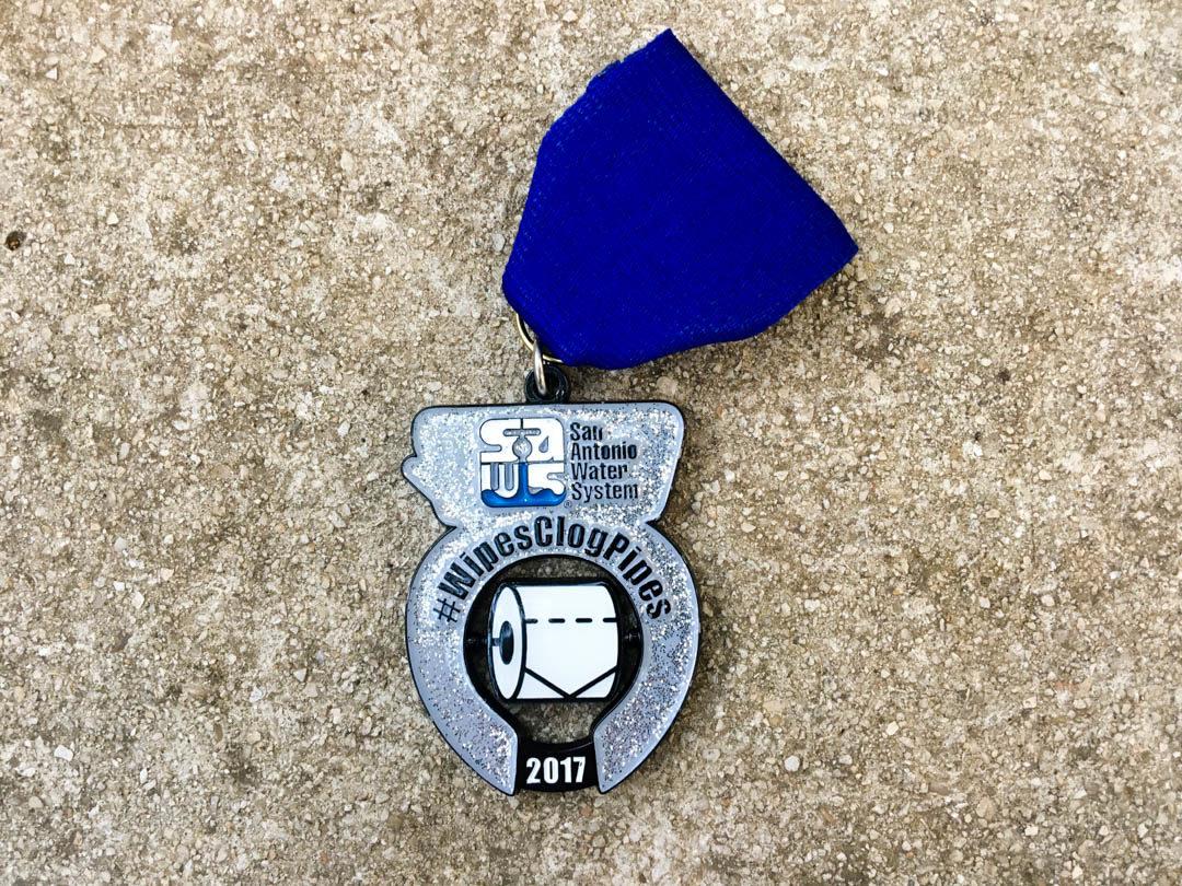 SAWS Fiesta Medal 2017