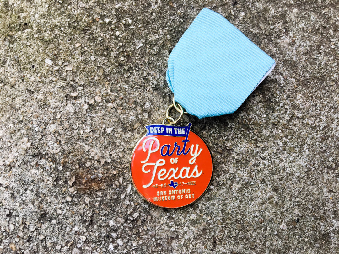 San Antonio Museum of Art: 2017 Fiesta Medal