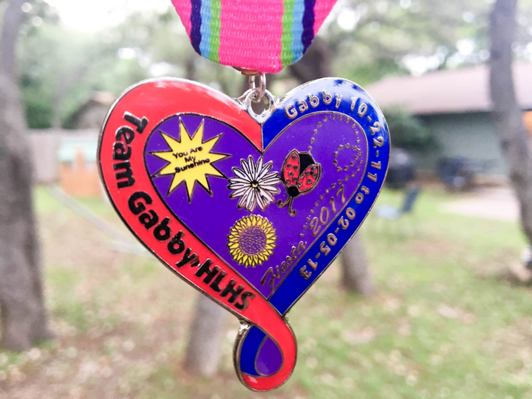 Team Gabby HLHS Fiesta Medal 2017