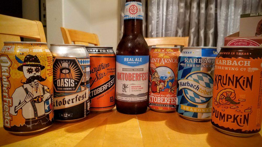 Texas Oktoberfest Beer Roundup Sa Flavor