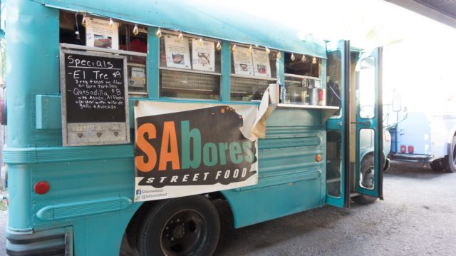 Sabores Food Truck Alamo Street Eat Bar San Antonio Restaurant