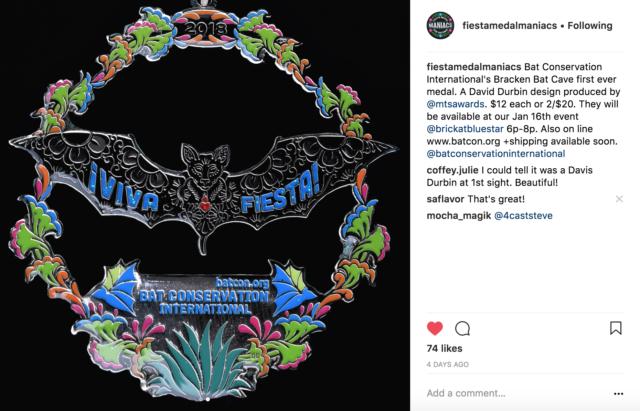Bat Conservation International David Durbin Fiesta Medals 2018