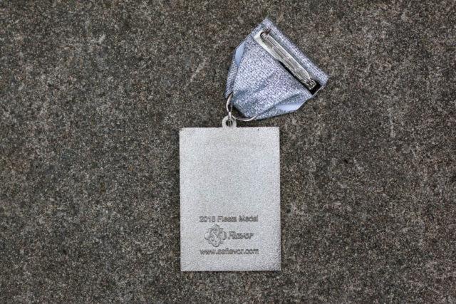 El Valiente SA Flavor Spurs Fiesta Medal 2018-Back