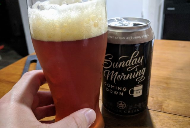 Ranger Creek Brewing Sunday Morning Coming Down Poured