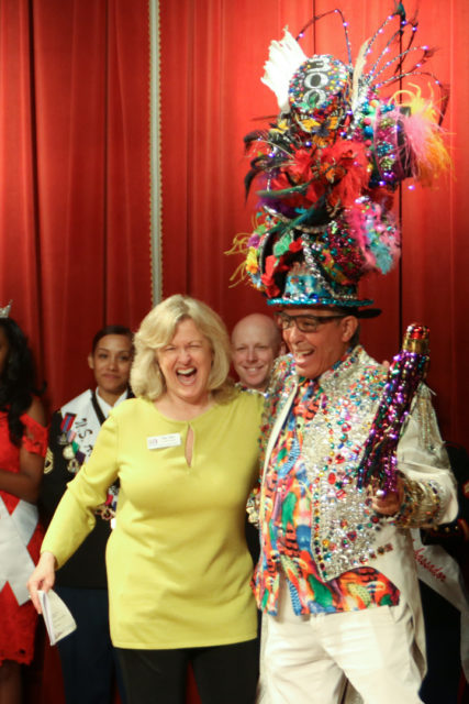 Michael Quintanilla, the man with the best hats of Fiesta
