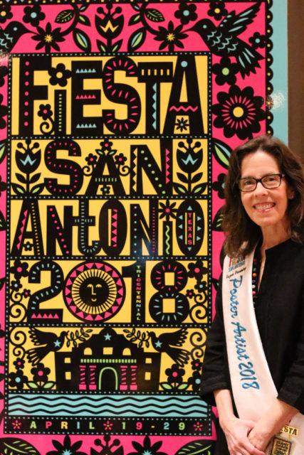 Suzan Browning, Fiesta 2018 Poster Artist.