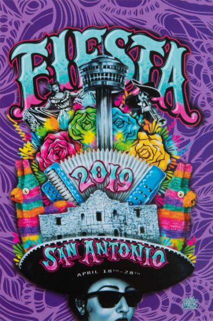 2019 Fiesta Poster Los Otros
