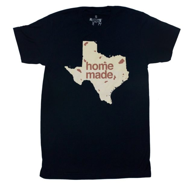 Homemade Tortilla Shirt BarbacoApparel San Antonio