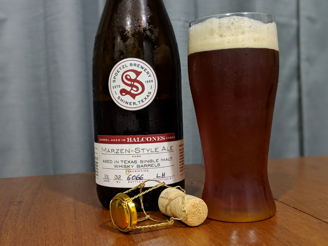 Texas Two Step: Shiner's Märzen Aged in Balcones Barrel